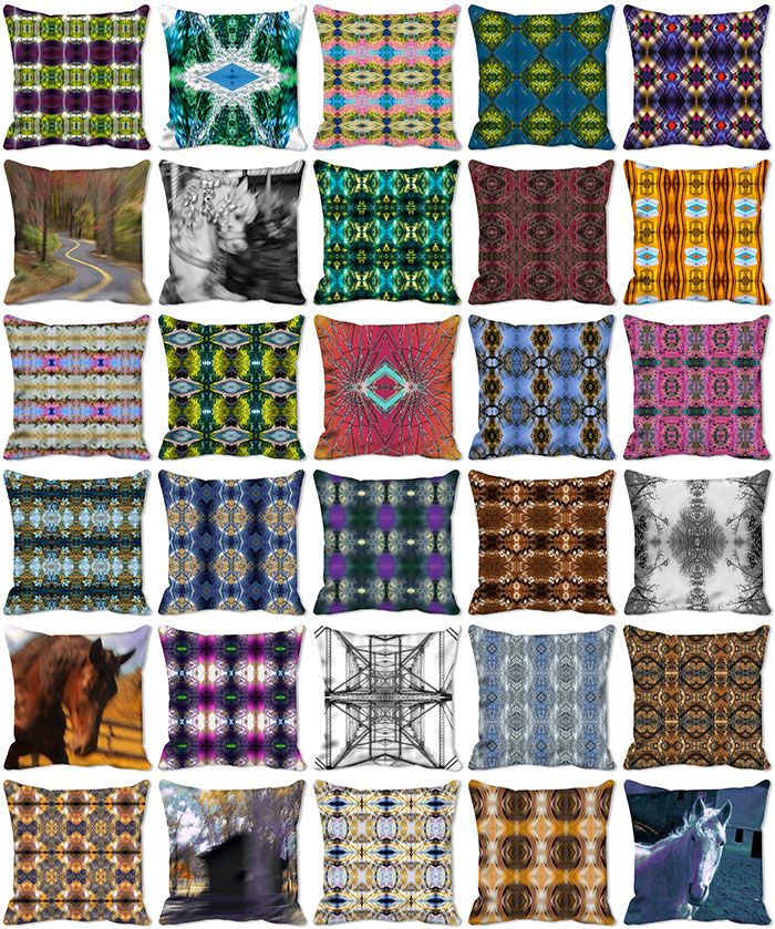 Designer Pillows: Pillows, Ties, Scarves & More. We put our heart into every image. Have a love affair with us. Love is a Pillow. Marc Jaffe Studios