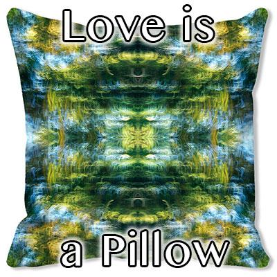Love is a pillow: Original Fine Art Photography by Marc Jaffe. Love us